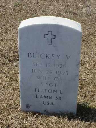 LAMB, BLICKSY V - Pulaski County, Arkansas | BLICKSY V LAMB - Arkansas Gravestone Photos