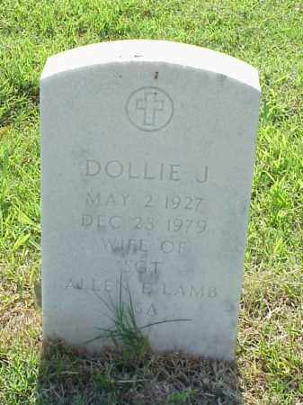 LAMB, DOLLIE J - Pulaski County, Arkansas | DOLLIE J LAMB - Arkansas Gravestone Photos