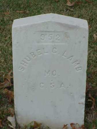 LAMB (VETERAN CSA), SHUBEL C - Pulaski County, Arkansas | SHUBEL C LAMB (VETERAN CSA) - Arkansas Gravestone Photos