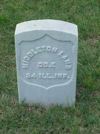 LAMB (VETERAN UNION), MIDDLETON - Pulaski County, Arkansas | MIDDLETON LAMB (VETERAN UNION) - Arkansas Gravestone Photos