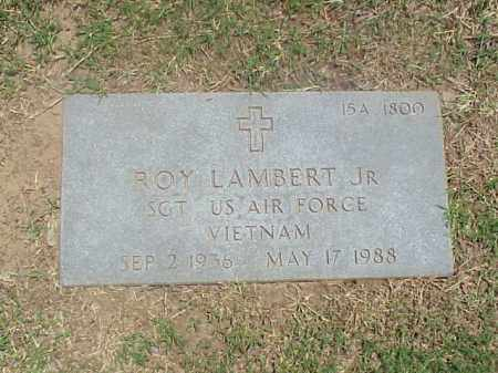 LAMBERT, JR (VETERAN VIET), ROY - Pulaski County, Arkansas | ROY LAMBERT, JR (VETERAN VIET) - Arkansas Gravestone Photos