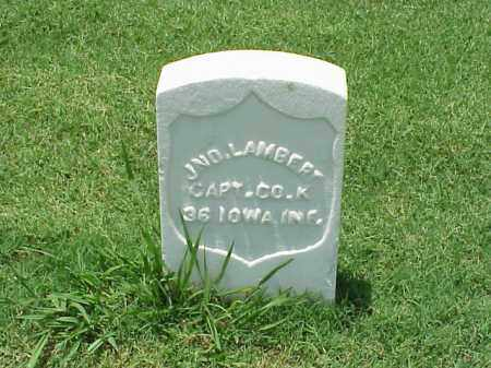 LAMBERT (VETERAN UNION), JOHN - Pulaski County, Arkansas | JOHN LAMBERT (VETERAN UNION) - Arkansas Gravestone Photos