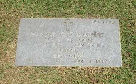 LAMBERT, RUBY - Pulaski County, Arkansas | RUBY LAMBERT - Arkansas Gravestone Photos