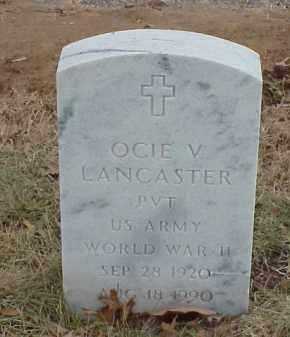 LANCASTER  (VETERAN WWII), OCIE V - Pulaski County, Arkansas | OCIE V LANCASTER  (VETERAN WWII) - Arkansas Gravestone Photos