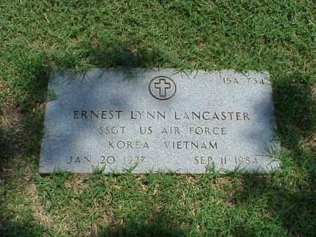 LANCASTER (VETERAN 2 WARS), ERNEST LYNN - Pulaski County, Arkansas | ERNEST LYNN LANCASTER (VETERAN 2 WARS) - Arkansas Gravestone Photos