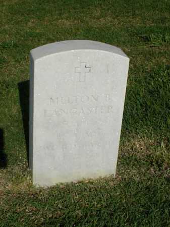 LANCASTER (VETERAN WWII), MELTON B - Pulaski County, Arkansas | MELTON B LANCASTER (VETERAN WWII) - Arkansas Gravestone Photos