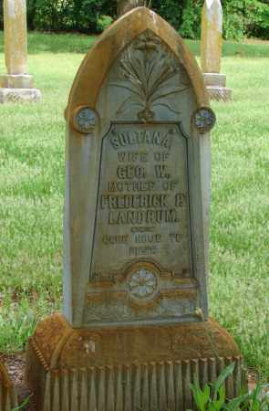 LANDRUM, SULTANA - Pulaski County, Arkansas | SULTANA LANDRUM - Arkansas Gravestone Photos