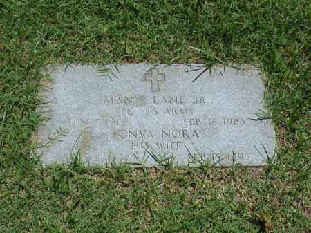 LANE, JR  (VETERAN WWII), MANIE - Pulaski County, Arkansas | MANIE LANE, JR  (VETERAN WWII) - Arkansas Gravestone Photos