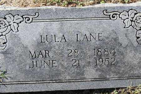 LANE, LULA - Pulaski County, Arkansas | LULA LANE - Arkansas Gravestone Photos