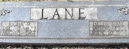 NALL LANE, HELEN - Pulaski County, Arkansas | HELEN NALL LANE - Arkansas Gravestone Photos