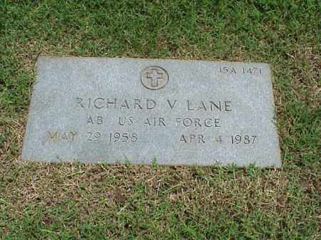 LANE (VETERAN), RICHARD V - Pulaski County, Arkansas | RICHARD V LANE (VETERAN) - Arkansas Gravestone Photos