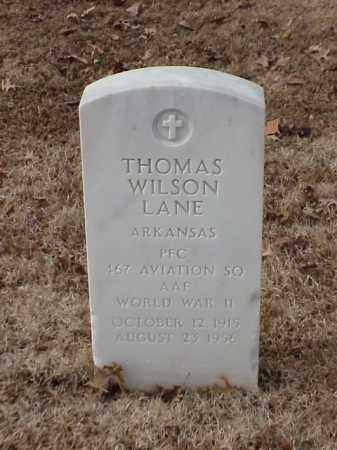 LANE (VETERAN WWII), THOMAS WILSON - Pulaski County, Arkansas | THOMAS WILSON LANE (VETERAN WWII) - Arkansas Gravestone Photos