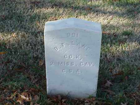 LANG (VETERAN CSA), B F - Pulaski County, Arkansas | B F LANG (VETERAN CSA) - Arkansas Gravestone Photos