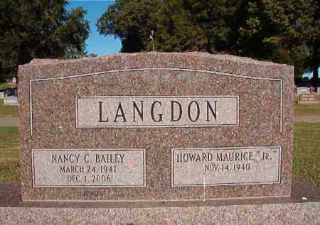 LANGDON, NANCY C - Pulaski County, Arkansas | NANCY C LANGDON - Arkansas Gravestone Photos