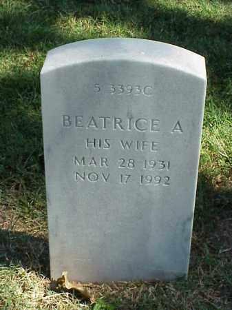 LANGFORD, BEATRICE A. - Pulaski County, Arkansas | BEATRICE A. LANGFORD - Arkansas Gravestone Photos