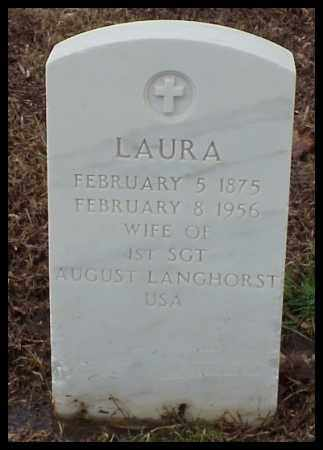 LANGHORST, LAURA - Pulaski County, Arkansas | LAURA LANGHORST - Arkansas Gravestone Photos