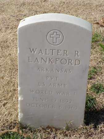 LANKFORD (VETERAN WWI), WALTER R - Pulaski County, Arkansas | WALTER R LANKFORD (VETERAN WWI) - Arkansas Gravestone Photos