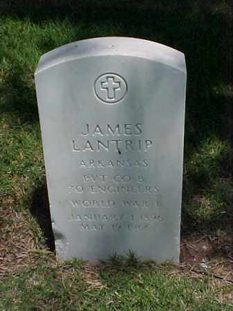LANTRIP (VETERAN WWI), JAMES - Pulaski County, Arkansas | JAMES LANTRIP (VETERAN WWI) - Arkansas Gravestone Photos