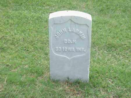 LARKIN (VETERAN UNION), JOHN - Pulaski County, Arkansas | JOHN LARKIN (VETERAN UNION) - Arkansas Gravestone Photos