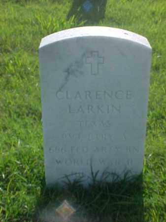 LARKIN (VETERAN WWII), CLARENCE - Pulaski County, Arkansas | CLARENCE LARKIN (VETERAN WWII) - Arkansas Gravestone Photos