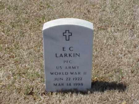 LARKIN (VETERAN WWII), E C - Pulaski County, Arkansas | E C LARKIN (VETERAN WWII) - Arkansas Gravestone Photos