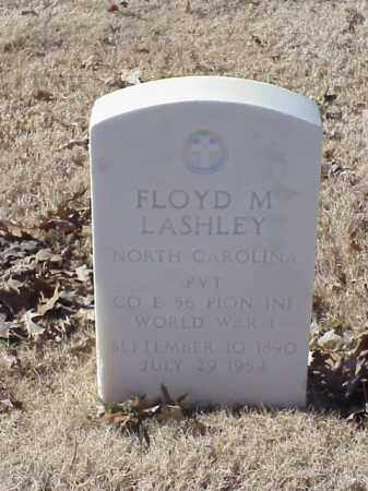 LASHLEY (VETERAN WWI), FLOYD M - Pulaski County, Arkansas | FLOYD M LASHLEY (VETERAN WWI) - Arkansas Gravestone Photos