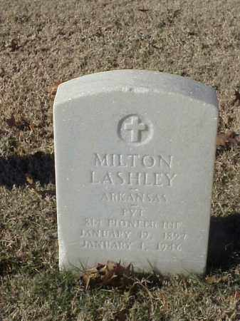 LASHLEY (VETERAN WWI), MILTON - Pulaski County, Arkansas | MILTON LASHLEY (VETERAN WWI) - Arkansas Gravestone Photos