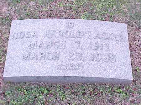 LASKER, ROSA HEROLD - Pulaski County, Arkansas | ROSA HEROLD LASKER - Arkansas Gravestone Photos