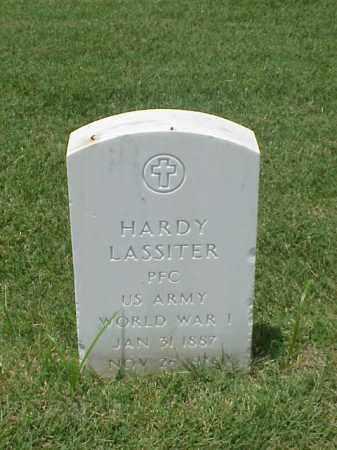LASSITER (VETERAN WWI), HARDY - Pulaski County, Arkansas | HARDY LASSITER (VETERAN WWI) - Arkansas Gravestone Photos