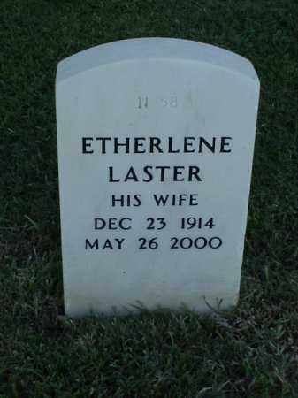 LASTER, ETHERLENE - Pulaski County, Arkansas | ETHERLENE LASTER - Arkansas Gravestone Photos