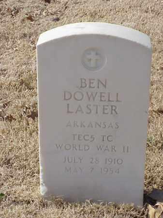 LASTER (VETERAN WWII), BEN DOWELL - Pulaski County, Arkansas | BEN DOWELL LASTER (VETERAN WWII) - Arkansas Gravestone Photos