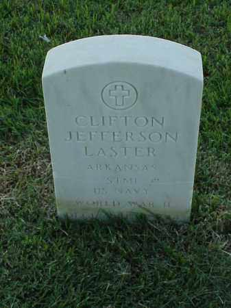 LASTER (VETERAN WWII), CLIFTON JEFFERSON - Pulaski County, Arkansas | CLIFTON JEFFERSON LASTER (VETERAN WWII) - Arkansas Gravestone Photos