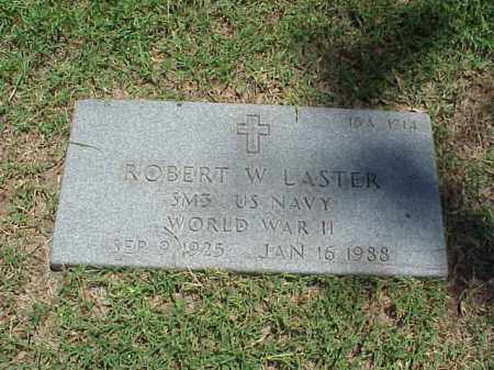LASTER (VETERAN WWII), ROBERT W - Pulaski County, Arkansas | ROBERT W LASTER (VETERAN WWII) - Arkansas Gravestone Photos