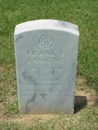 LAVIGNE (VETERAN WWI), FRANK F - Pulaski County, Arkansas | FRANK F LAVIGNE (VETERAN WWI) - Arkansas Gravestone Photos