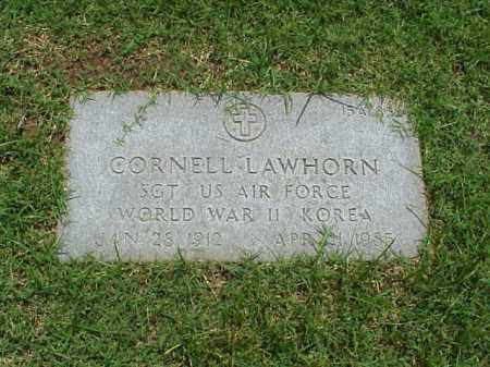 LAWHORN (VETERAN 2 WARS), CORNELL - Pulaski County, Arkansas | CORNELL LAWHORN (VETERAN 2 WARS) - Arkansas Gravestone Photos
