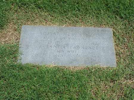 LAWRENCE (VETERAN 3 WARS), ROBERT J - Pulaski County, Arkansas | ROBERT J LAWRENCE (VETERAN 3 WARS) - Arkansas Gravestone Photos