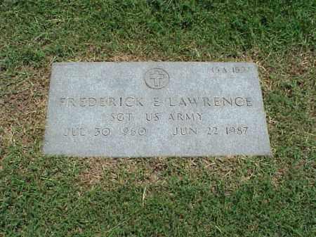 LAWRENCE (VETERAN), FREDERICK E - Pulaski County, Arkansas | FREDERICK E LAWRENCE (VETERAN) - Arkansas Gravestone Photos