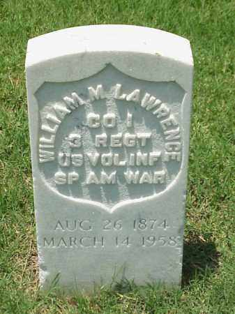 LAWRENCE (VETERAN SAW), WILLIAM M - Pulaski County, Arkansas | WILLIAM M LAWRENCE (VETERAN SAW) - Arkansas Gravestone Photos
