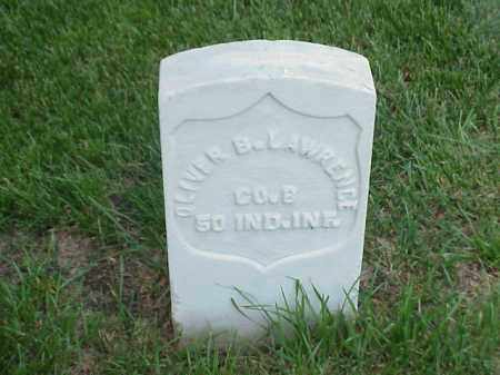LAWRENCE (VETERAN UNION), OLIVER B - Pulaski County, Arkansas | OLIVER B LAWRENCE (VETERAN UNION) - Arkansas Gravestone Photos
