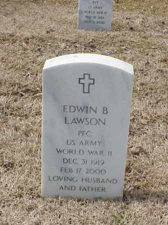 LAWSON  (VETERAN WWII), EDWIN B - Pulaski County, Arkansas | EDWIN B LAWSON  (VETERAN WWII) - Arkansas Gravestone Photos