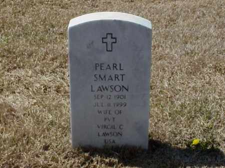 SMART LAWSON, PEARL - Pulaski County, Arkansas | PEARL SMART LAWSON - Arkansas Gravestone Photos
