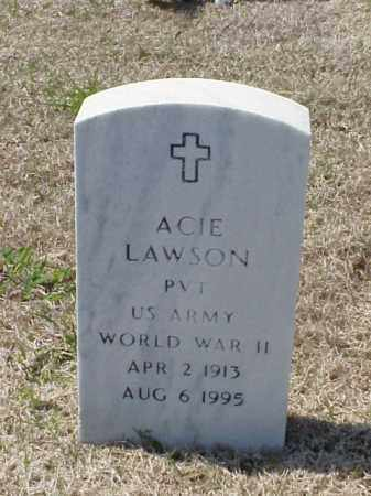LAWSON (VETERAN WWII), ACIE - Pulaski County, Arkansas | ACIE LAWSON (VETERAN WWII) - Arkansas Gravestone Photos