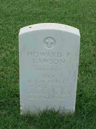 LAWSON (VETERAN WWII), HOWARD P - Pulaski County, Arkansas | HOWARD P LAWSON (VETERAN WWII) - Arkansas Gravestone Photos