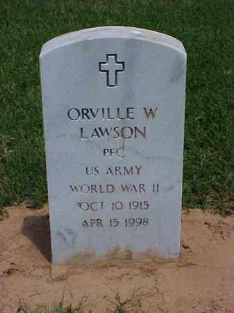LAWSON (VETERAN WWII), ORVILLE W - Pulaski County, Arkansas | ORVILLE W LAWSON (VETERAN WWII) - Arkansas Gravestone Photos
