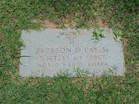 LAY, SR (VETERAN 2 WARS), JACKSON O - Pulaski County, Arkansas | JACKSON O LAY, SR (VETERAN 2 WARS) - Arkansas Gravestone Photos