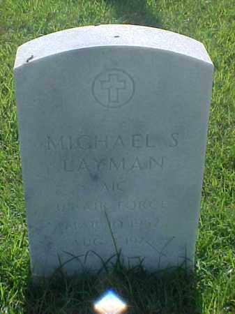 LAYMAN (VETERAN), MICHAEL S - Pulaski County, Arkansas | MICHAEL S LAYMAN (VETERAN) - Arkansas Gravestone Photos
