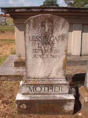 CARR LAYNE, LESSIE - Pulaski County, Arkansas | LESSIE CARR LAYNE - Arkansas Gravestone Photos