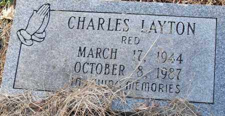 "LAYTON, CHARLES ""RED"" - Pulaski County, Arkansas 