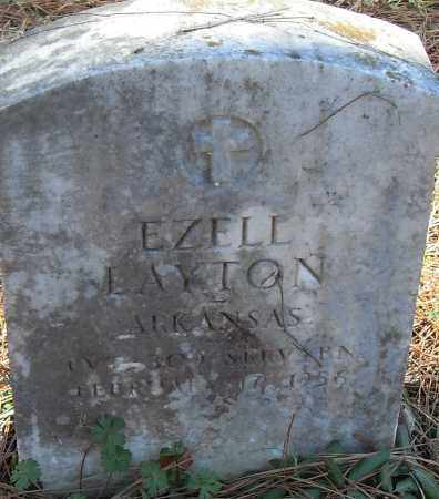 LAYTON (VETERAN), EZELL - Pulaski County, Arkansas | EZELL LAYTON (VETERAN) - Arkansas Gravestone Photos