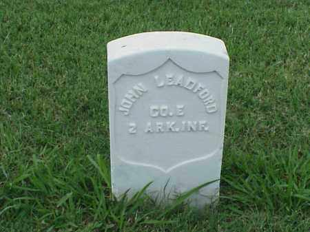 LEADFORD (VETERAN UNION), JOHN - Pulaski County, Arkansas | JOHN LEADFORD (VETERAN UNION) - Arkansas Gravestone Photos